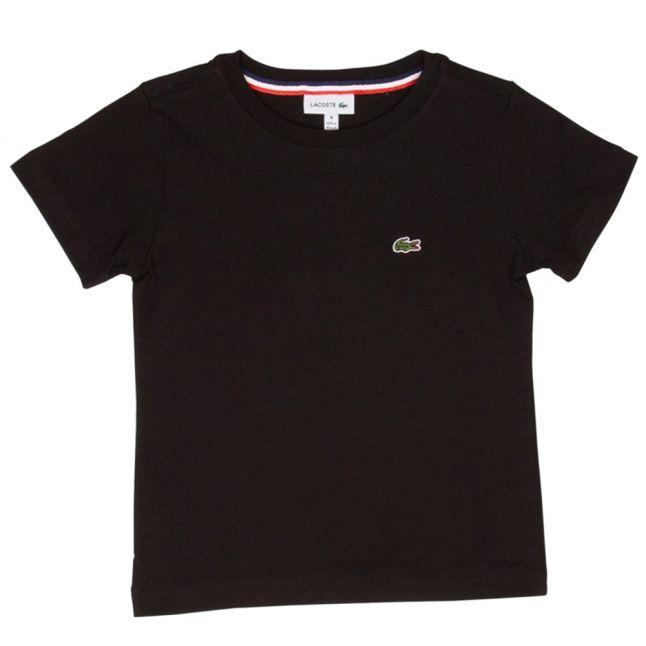 Boys Black Classic S/s T Shirt