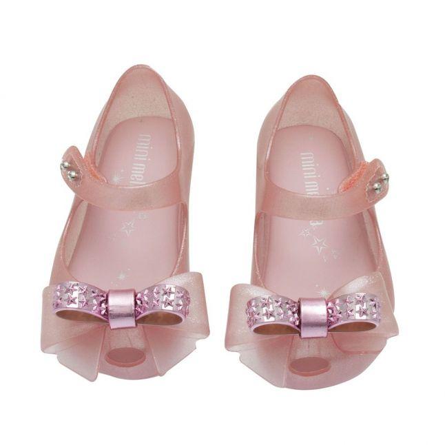 Girls Pink Dusk Bow Mini Ultragirl Stars Bow Shoes (4-10)