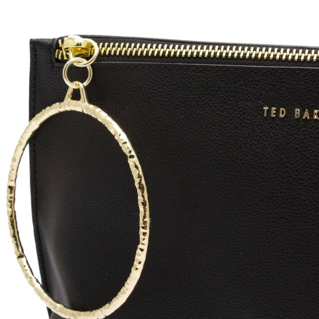 Womens Black Ingaah Bracelet Clutch