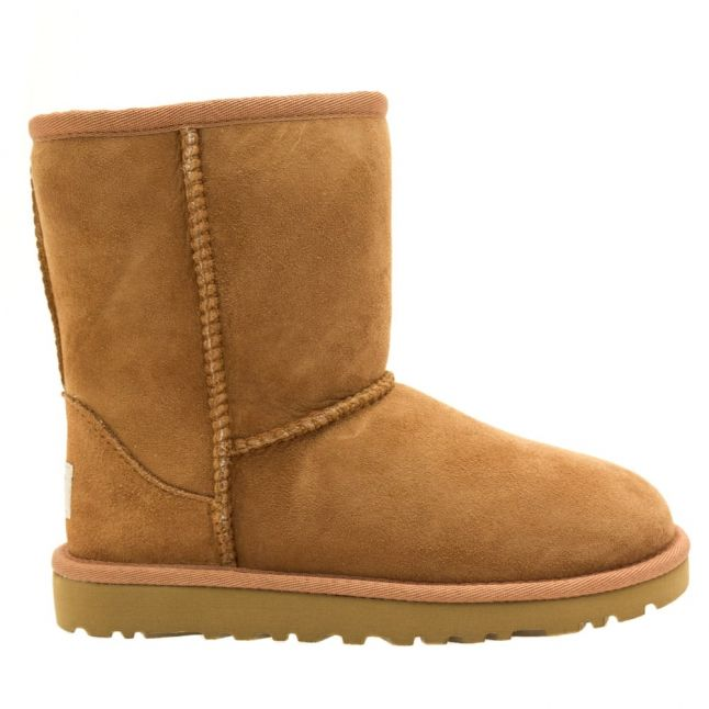 Kids Chestnut Classic Short Boots (12-3)