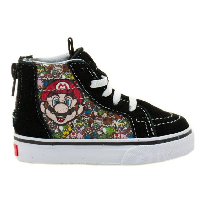 Toddler Mario & Luigi SK8-Hi Zip Nintendo Trainers (4-9)