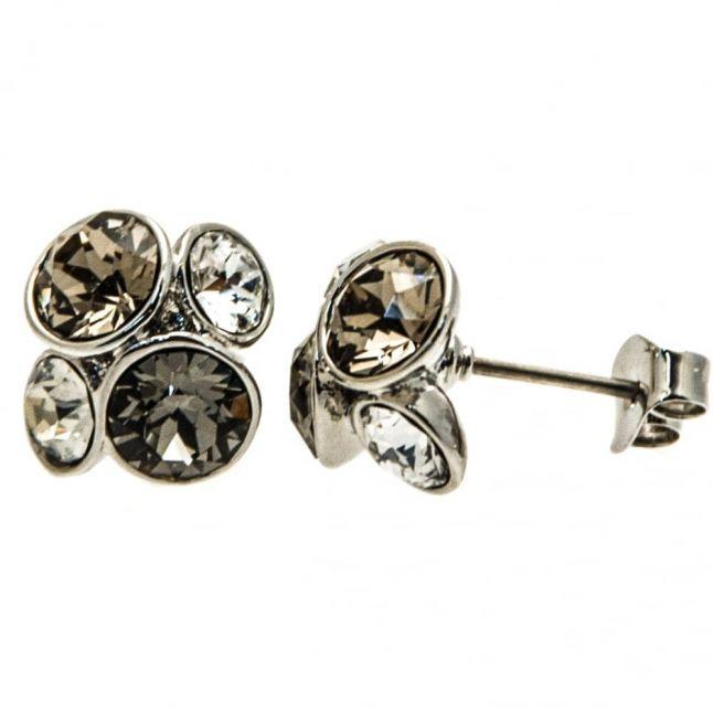 Womens Silver & Silver Shade Lynda Cluster Studs