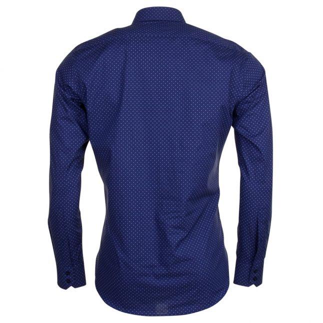 Mens Navy C-Enzo Regular Fit L/s Shirt
