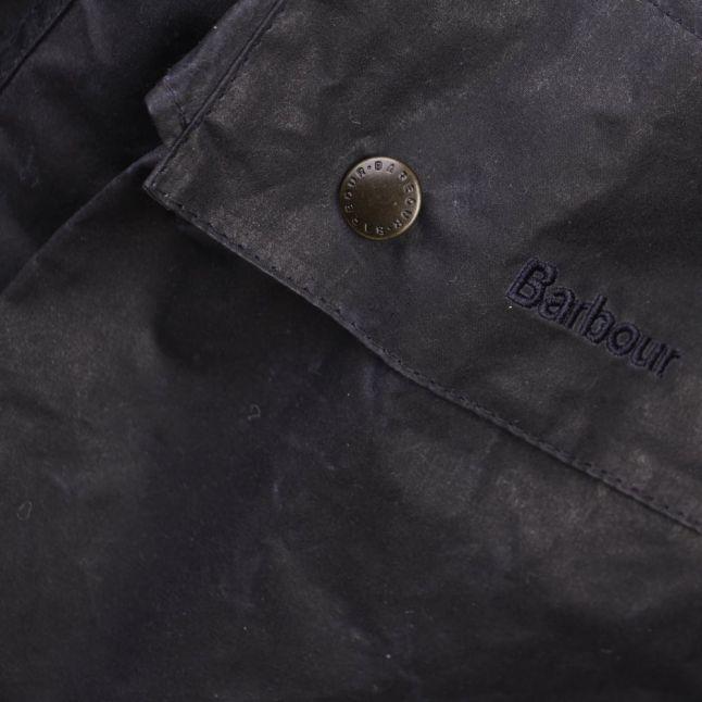 Heritage Mens Navy Binnacle Waxed Jacket