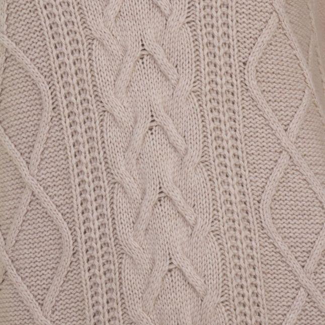 Lifestyle Womens Ecru Tidewater Knitted Dress