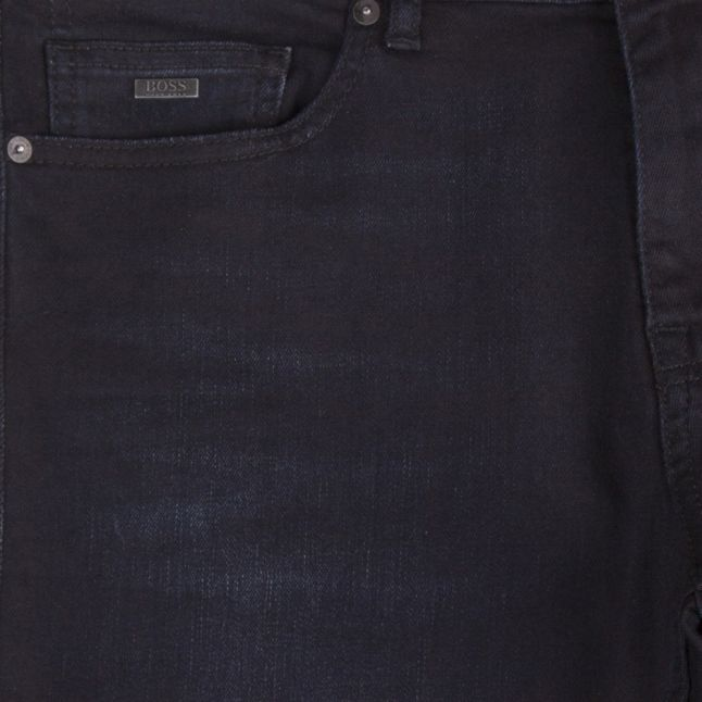 Casual Mens Dark Blue Delaware Slim Fit Jeans