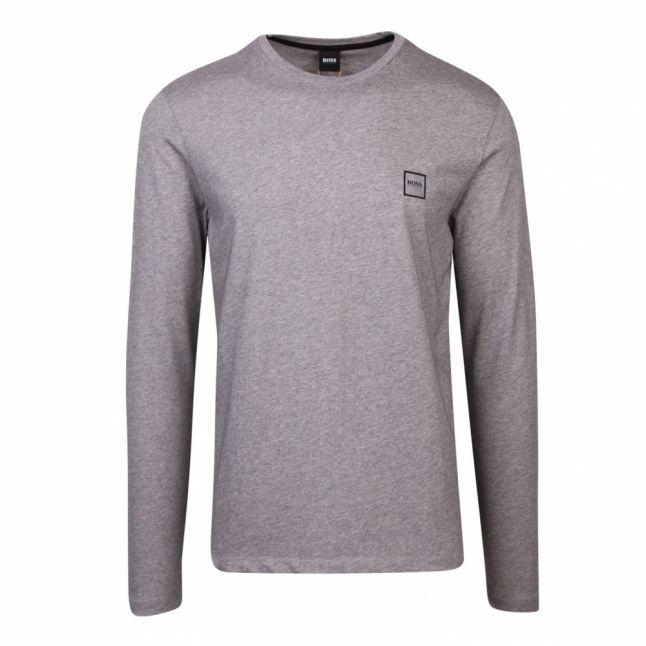Casual Mens Light Grey Tacks L/s T Shirt