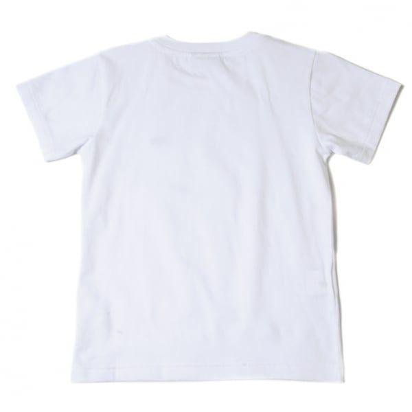 Boys White Classic Crew S/s Tee Shirt