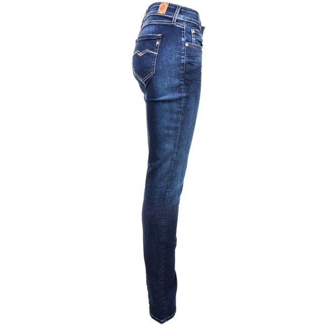 Womens Blue Wash Vicki Straight Fit Jeans