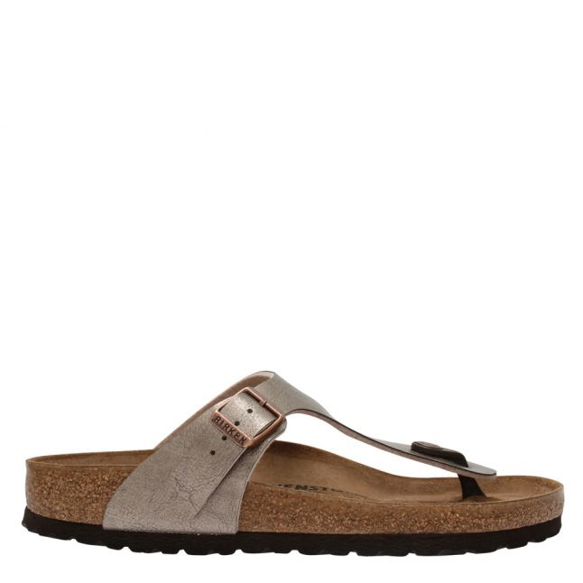 Womens Graceful Taupe Gizeh Birko-Flor Toe Post Sandals