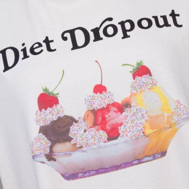 Womens Vanilla Latte Diet Drop Out Heights S/s Tee Shirt