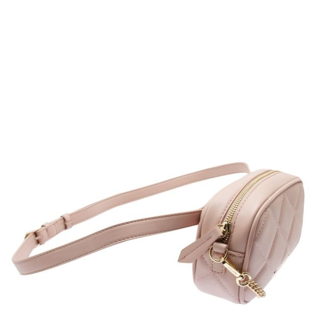 Womens Pink Ocarina Quilted Belt Bag