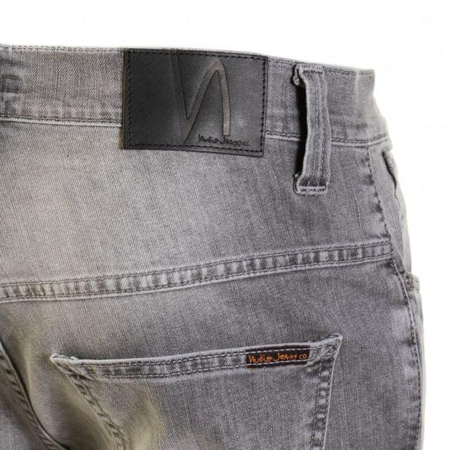 Mens Dark Pavement Wash Thin Finn Slim Fit Jeans