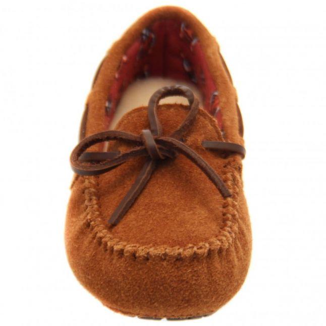 Kids Chestnut Ryder Jungle Slippers (9-5)