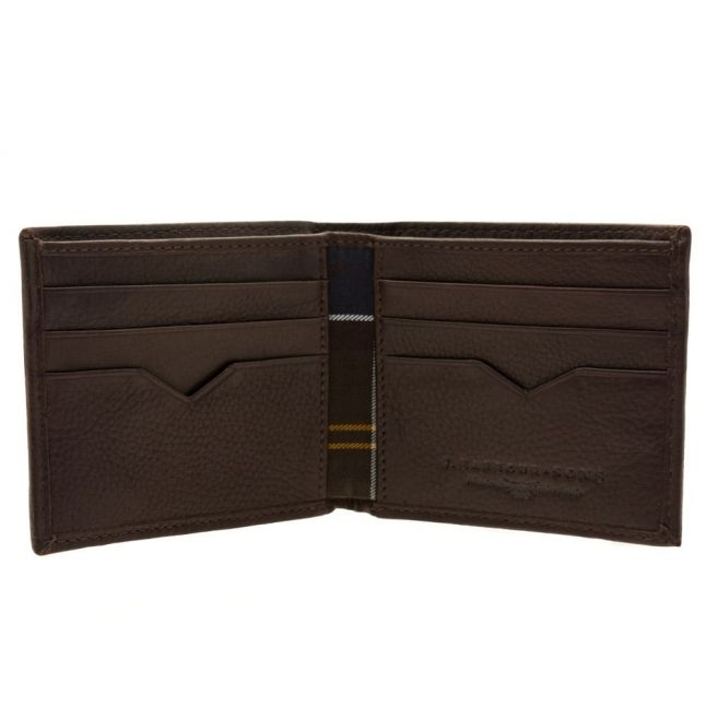 Lifestyle Mens Brown Standard Leather Wallet