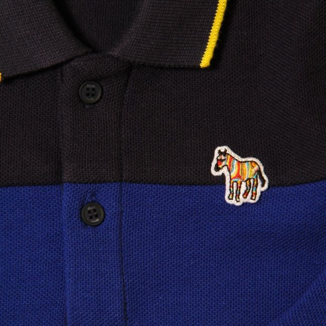Baby Regatta Blue Java L/s Polo Shirt