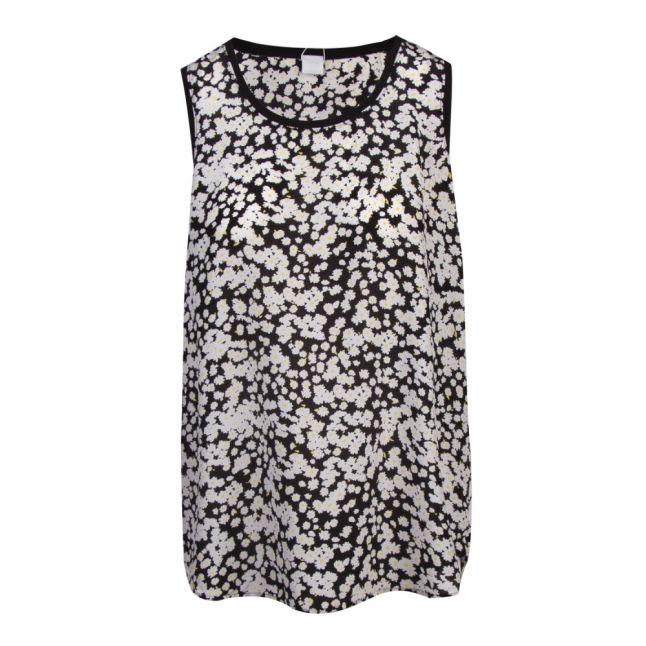 Casual Womens Black Cendia_6 Daisy Vest Top