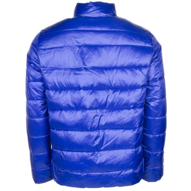 Mens Blue Mountain Shiny Down Jacket