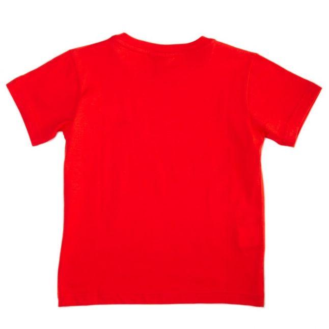 Boys Red Classic Crew S/s Tee Shirt