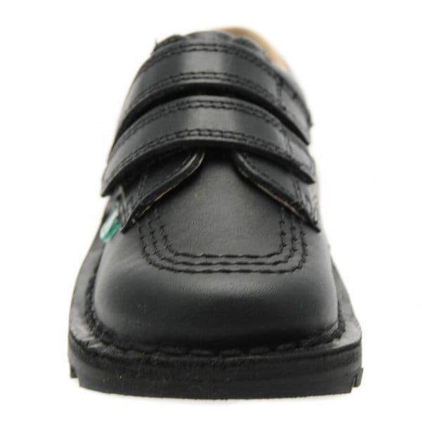 Infant Black Kick Lo Twin Strap Velcro (5-12)