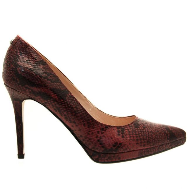 Womens Burgundy Deadly Court Shoes