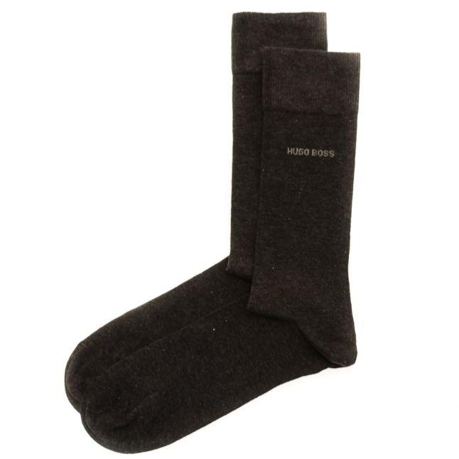 Mens Charcoal Two Pack RS Uni Socks