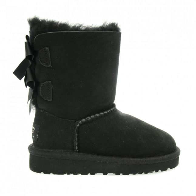 Toddler Black Bailey Bow Boots (6-11)