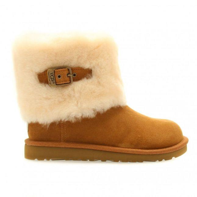 Kids Chestnut Ellee Boots (9-5)