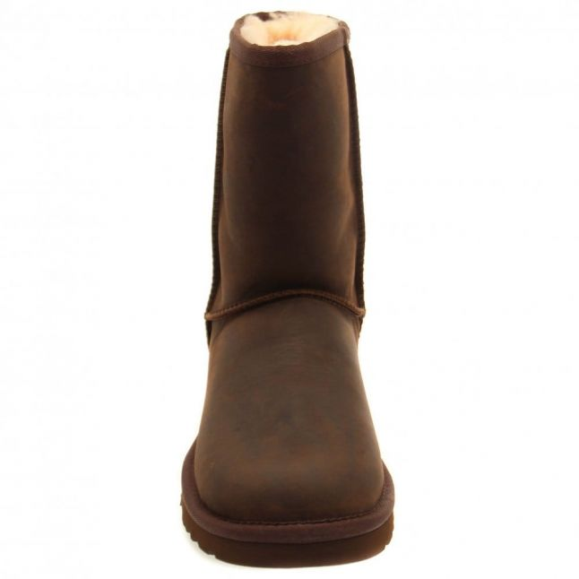 Womens Brownstone Classic Short Leather Boots