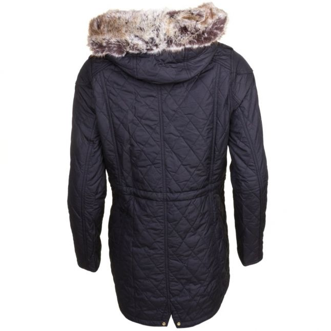 Womens Black Enduro Quilted Jacket