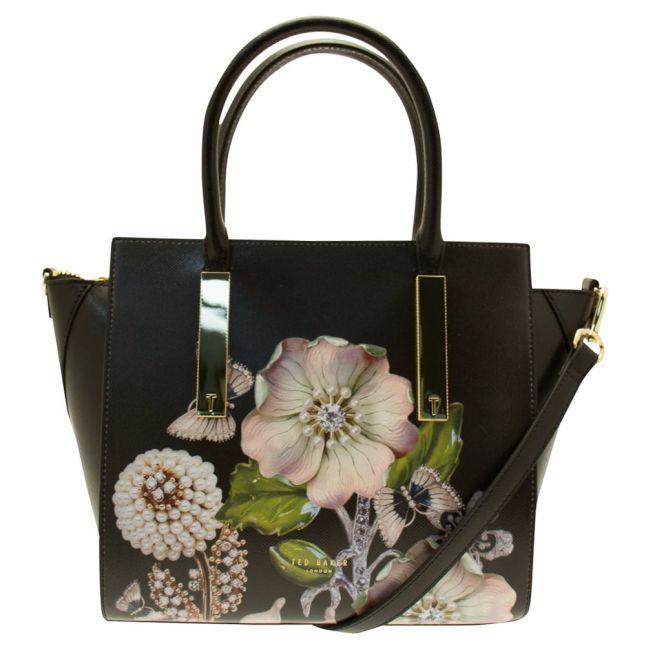 Womens Black Albera Gem Gardens Tote Bag
