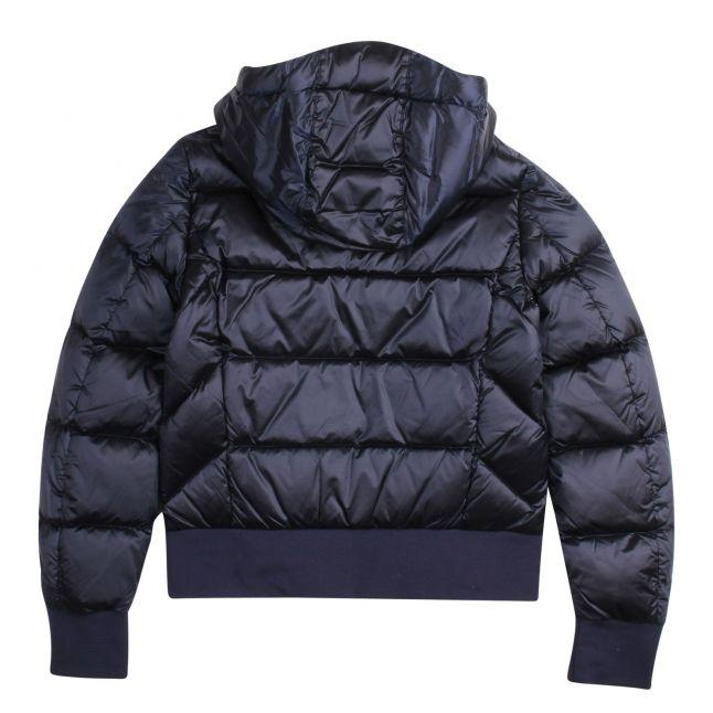 Girls Cadet Blue Mariah Padded Hooded Jacket