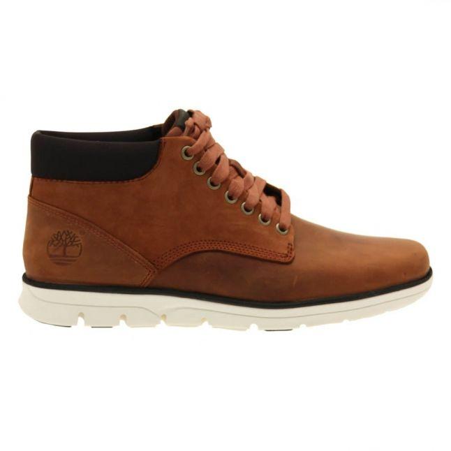 Mens Red Brown Bradstreet Chukka Boots