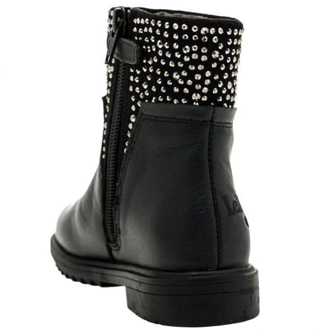 Girls Black Joyce Boots (26-37)