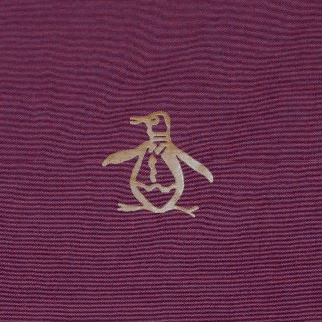 Mens Pomegranate & Navy Reversible Ratner Jacket