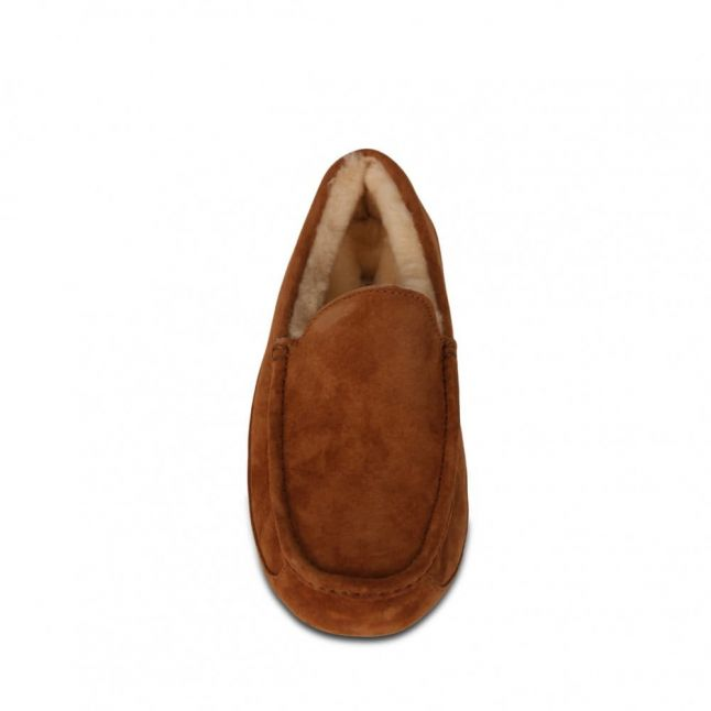 Mens Chestnut Ascot Slippers