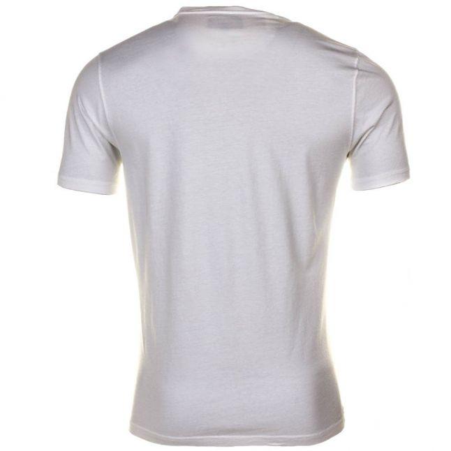 Mens White Tyre Track S/s Tee Shirt