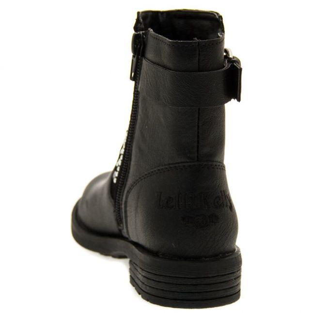 Girls Black Glamour Boots (28-37)