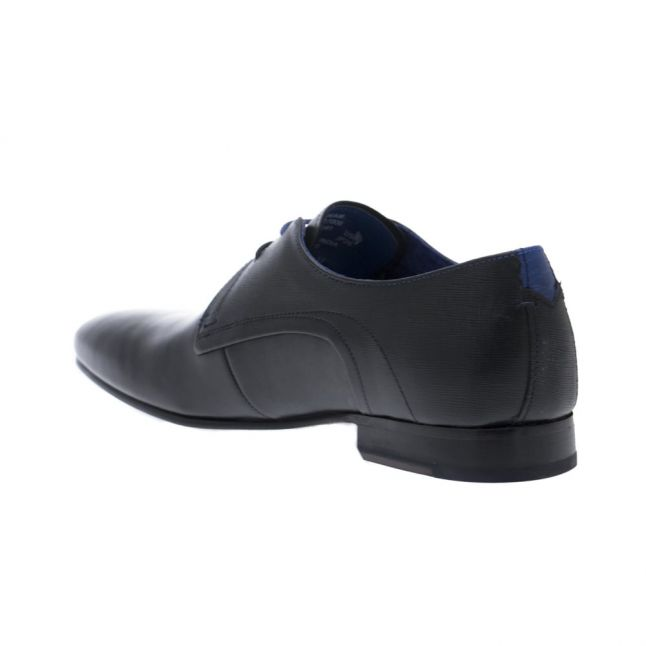 Mens Black Peair Leather Shoes