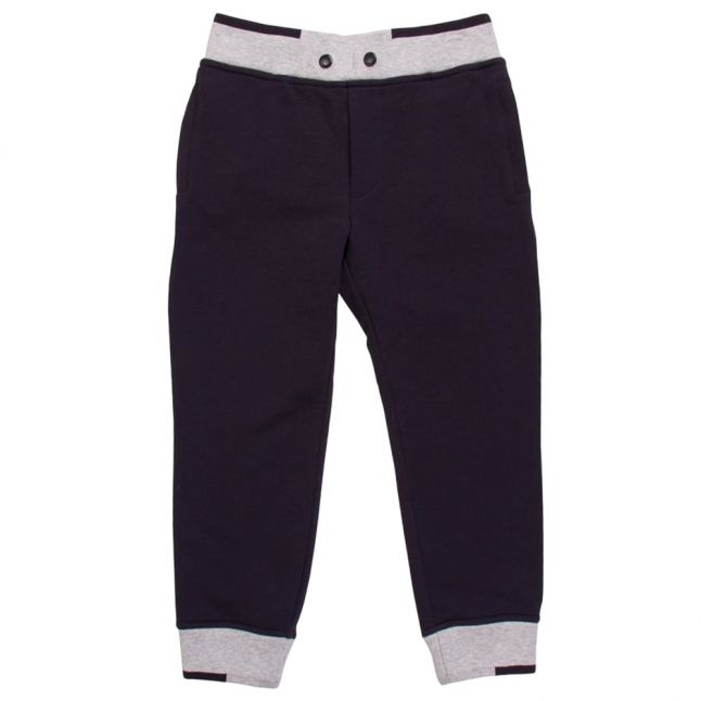 Boys Blue Cuffed Sweat Pants