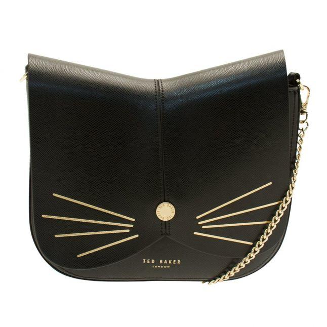 Womens Black Felinne Cat Cross Body Bag