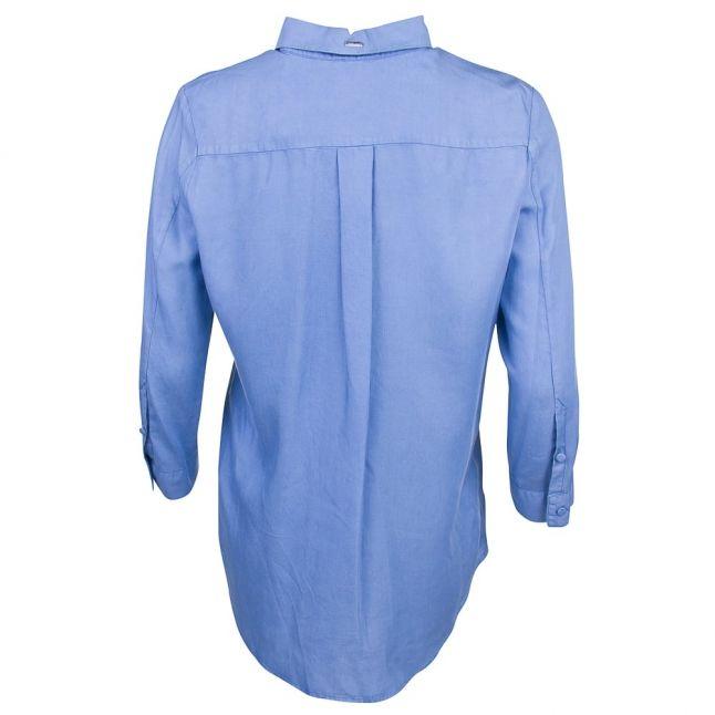 Womens Blue Denim L/s Shirt