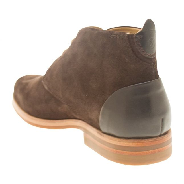 H By Hudson Mens Brown Matteo Suede Boot