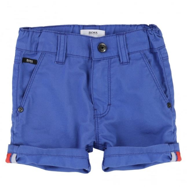 Baby Blue Branded Shorts