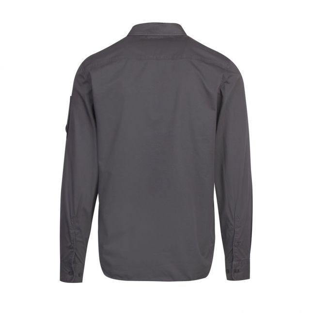Mens Gargoyle Cotton Zip Overshirt
