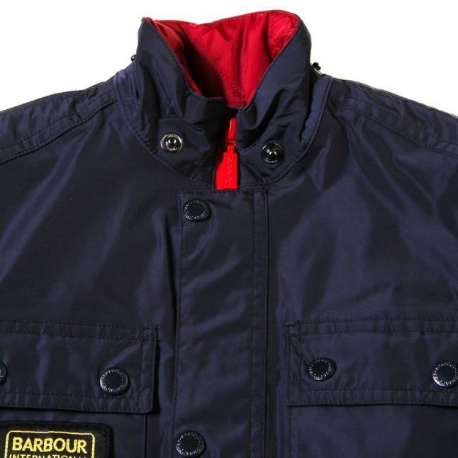 Boys Navy Nyloc Jacket