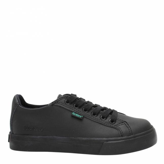 Junior Black Tovni Lacer Shoes (12.5-2.5)