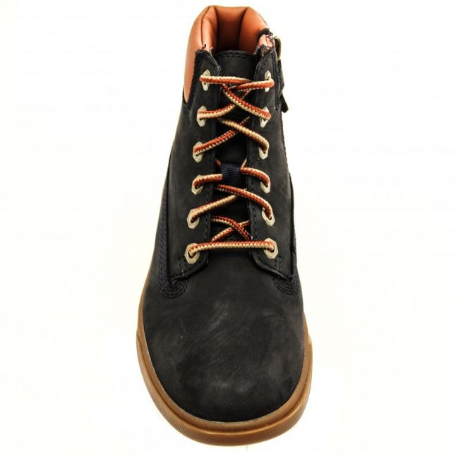 Youth Navy & Tan Groveton 6 Inch Boots (12-2)