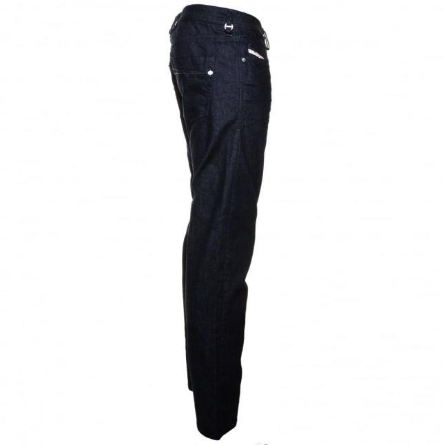 Mens 0853m Wash Akee Regular Slim Tapered Jeans