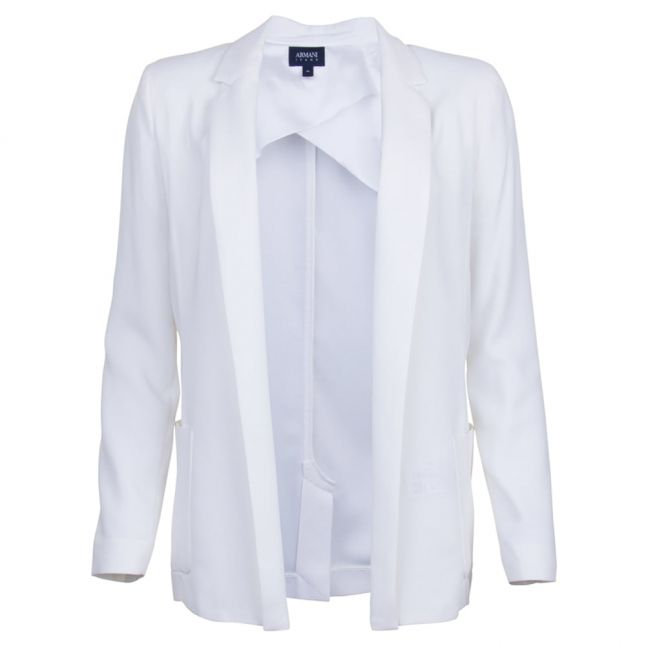 Womens Off White Tailored Jacket